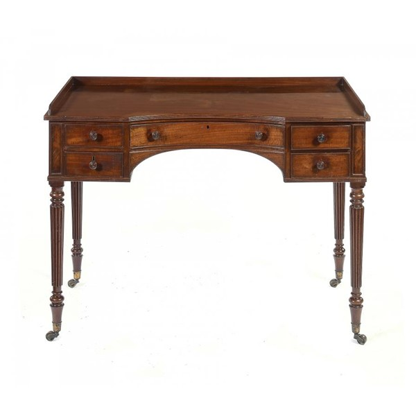 A REGENCY MAHOGANY  DRESSING TABLE  BY GILLOWS Image