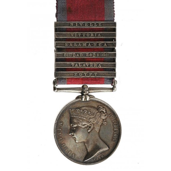 MILITARY GENERAL SERVICE MEDAL Image