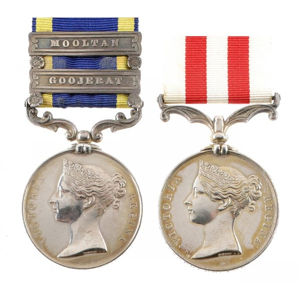 INDIAN CAMPAIGNS PAIR Image