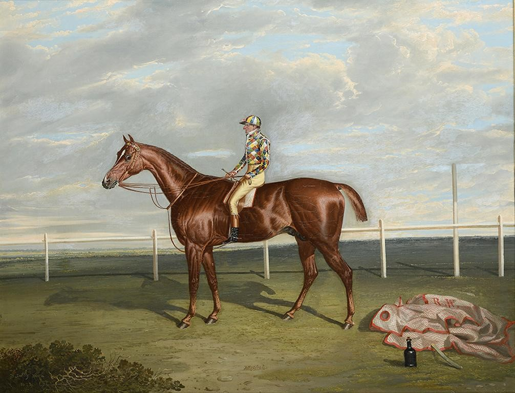 "DAVID DALBY OF YORK (1794-1836) ""BAREFOOT"" WINNER OF THE DONACASTER ST LEDGER IN 1823 THE PROPERTY O Image"