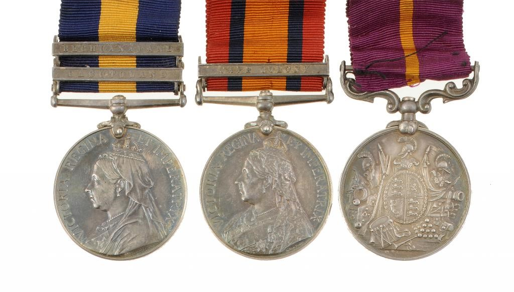 19TH CENTURY AFRICAN CAMPAIGNS GROUP OF THREE  Cape of Good Hope General Service Medal Image