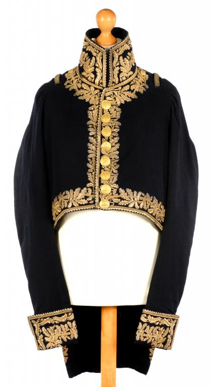 A FRENCH NAPOLEONIC ARMY GENERAL OFFICER'S COAT (L'HABIT DE GRAND UNIFORME D'OFFICIER GENERAL) PROVE Image