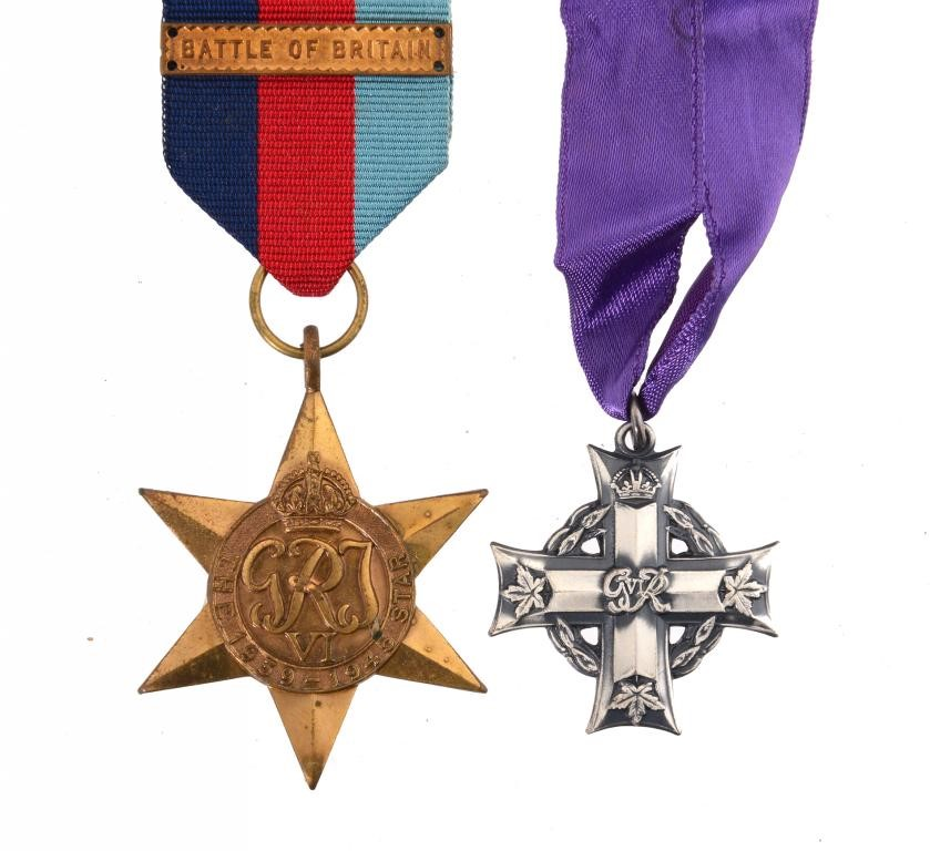 THE MEDALS OF SUB LIEUT JACK CONWAY CARPENTER (1919-1940) KILLED IN ACTION IN THE BATTLE OF BRITAIN  Image